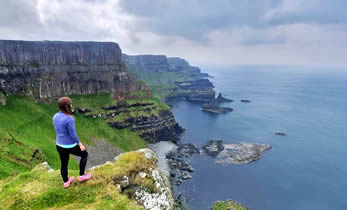 Giants Causeway Cliff Path Walking Tour