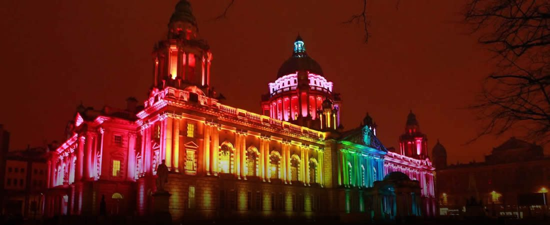 Image result for belfast city hall pride