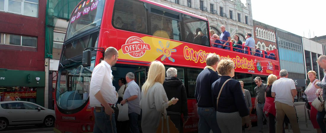 Belfast City Sightseeing Tour - Stop 1