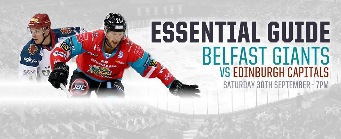 Belfast Giants vs Edinburgh Capitals