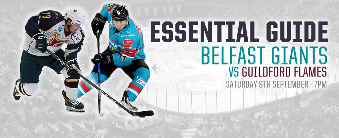 Belfast Giants vs Guildford Flames